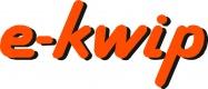 e-kwip logo orange schattiert