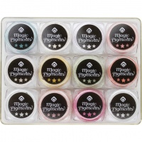 MAGNETIC Metalo efekto pigmentai MAGIC PIGMENTS
